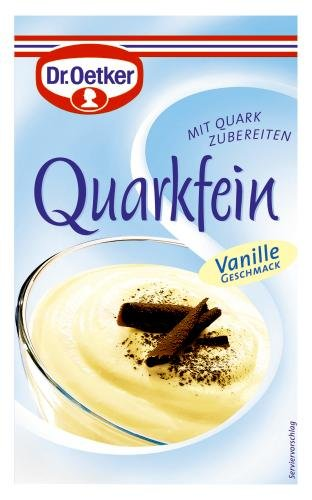 Dr. Oetker Quarkfein Vanille-Geschmack, 14er Pack (14 x 57 g Packung)