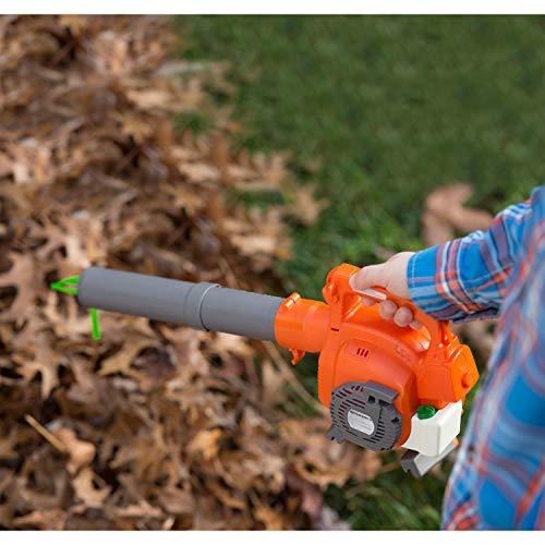 Husqvarna 589746401 Leaf Toy Plastic Blower, Grey/Orange