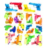 Neliblu Squirt Water Guns Party Favors - Bulk Party Pack Water Guns (Pack of 24) Assorted Most Popular Water Squirting Blasters - Pool Party Favors - Goody Bag Fillers