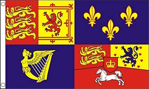 Royal Banner 1714–1801(House of Hannover) Flagge