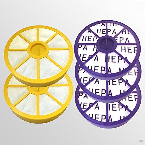 2 pre filtre moteur et 3 Post Moteur Allergy Hepa Kit filtre pour Dyson DC05 DC08 Aspirateur