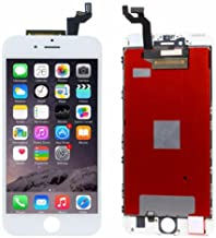 ZTR LCD Screen Compatible with iPhone 6s Plus 5.5 inch Replacement Digitizer Display Frame Front Glass Full Assembly White