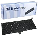 Trade Shop Premium Laptop Tastatur / Notebook Keyboard Ersatz Austausch Deutsch QWERTZ für Apple Macbook Pro Unibody 33,8cm 13,3