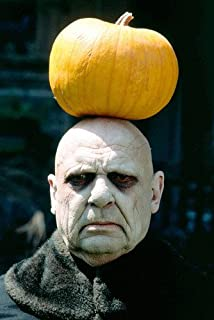 Jackie Coogan 24x36 Color Poster Print The Addams Family Uncle Fester Pumpkin