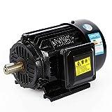 Motor eléctrico de corriente rotativa, compresor, motor asíncrono, motor eléctrico asíncrono de 1,5 kW, 380 V, 2800 rpm.