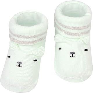 Mitlfuny, Recién Nacido Calcetines Corto para Bebés de Algodón Antideslizantes Niños Dibujos Animados Oso Primeros Pasos Primavera Verano Punto Calcetin de Piso Niñas Niño 0-15 Meses