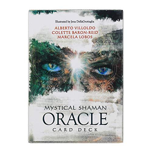 Cartas de oráculo de chamán místico Chamán Misterioso Cartas de Tarot de Oracle Cartas de Oracle Juego de Mesa Juego de Fiesta