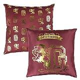 Harry Potter Gryffindor Cojin Premium, Rojo, 30 x 30 cm