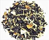 Nelson's Tea - Peaches & Cream - Black Loose Leaf Tea - Black tea, marigold petals, and peaches - 4 oz.