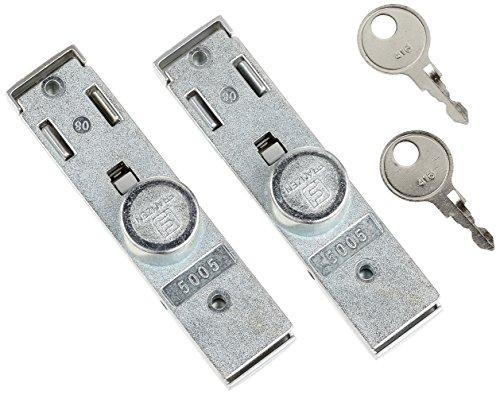 """Preisvergleich Produktbild Parat 900043999 Schloss-Set""""Classic TSA Lock"""" für Werkzeugkoffer in grau,  Silber"""