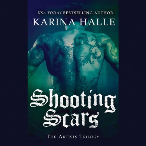 Shooting Scars audiobook cover art