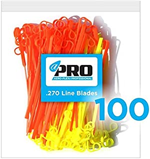 AeroFlex No More Line! Combo Replacement Blades 100 PRO Pack Heavy Duty LINE Blades