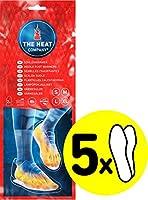 THE HEAT COMPANY Sohlenwärmer - 5 oder 30 Paar - EXTRA WARM - Wärmesohlen - Fußwärmer - 8 Stunden warme Füße - sofort...