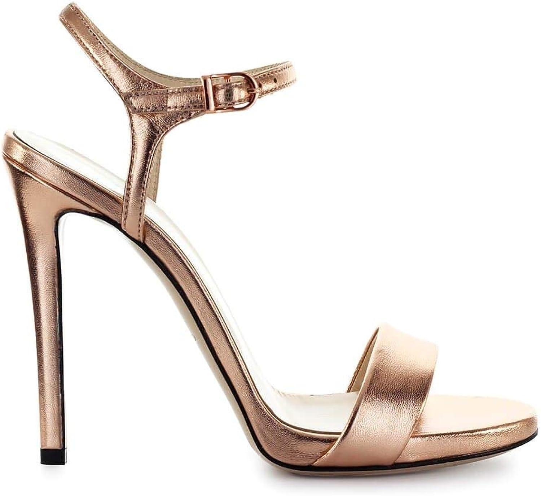 MARC ELLIS Women's MA3022PINK Pink Leather Sandals