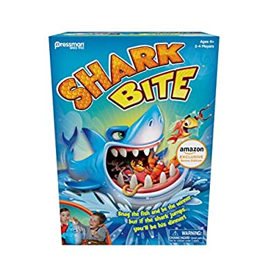 Amazon Exclusive Bonus Edition Shark Bite - Includes Let's Go Fishin' Card Game!
