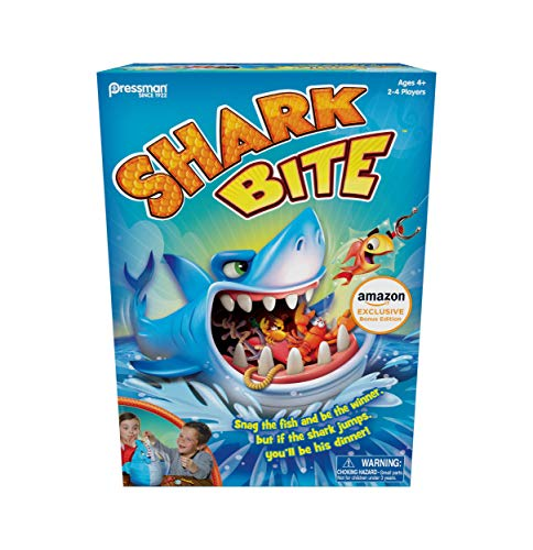 Shark Bite w/ Bonus Let's Go Fishin' Card Game (Amazon Exclusive)