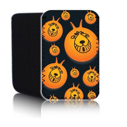 BIZEBEE 'Biz-E-Bee Retro 80' s Hüpfball '(7HD) Schutz Neopren Tasche für Xiaomi Mi Pad 2–Stoßfest und wasserabweisend Abdeckung, Hülle, Tasche,–Schnell Schiff UK