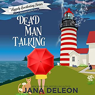 Dead Man Talking: A Cozy Paranormal Mystery     The Happily Everlasting Series, Book 1              By:                                                                                                                                 Jana DeLeon                               Narrated by:                                                                                                                                 B.J. Harrison                      Length: 5 hrs and 42 mins     538 ratings     Overall 4.3