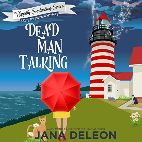 Dead Man Talking: A Cozy Paranormal Mystery cover art