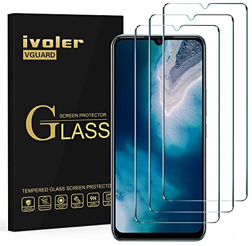 ivoler Pack de 3 Verre Trempé pour Vivo Y70, Film de Protection d'écran en Verre Trempé - Anti Rayures - sans Bulles - Ultra Résistant Dureté 9H Glass
