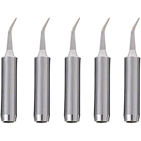 5pc Copper 900M-T Soldering Iron Tip Lead-free Solder Tips For Soldering Station