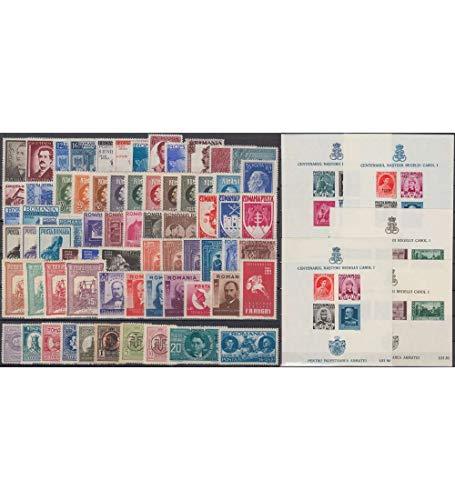 Goldhahn Rumänien Altkollektion postfrisch ** Briefmarken für Sammler