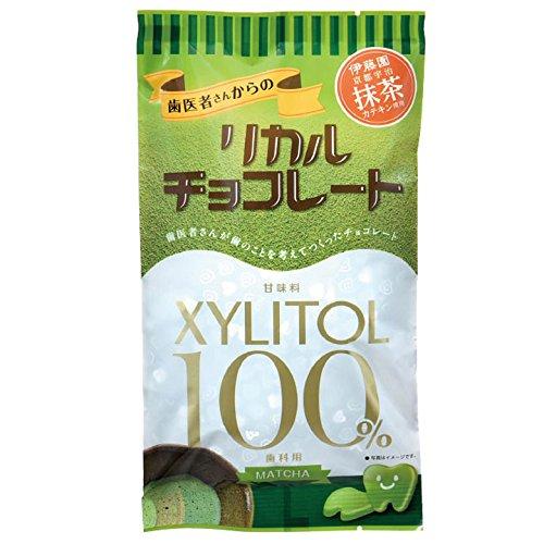 歯医者さんからのリカルチョコ 抹茶 1袋(60g)