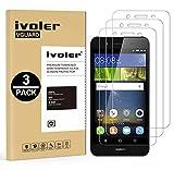 iVoler [3 Pack] Pellicola Vetro Temperato per Huawei P8 Lite Smart, Pellicola Protettiva, Protezione per Schermo