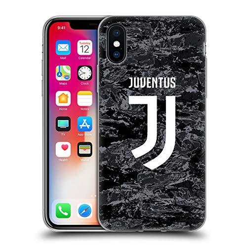 Head Case Designs Offiziell Zugelassen Juventus Football Club Home Goalkeeper 2019/20 Race Kit Soft Gel Handyhülle Hülle Huelle kompatibel mit Apple iPhone X/iPhone XS