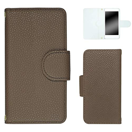 ホワイトナッツ AQUOS PHONE Xx mini 303SH スマホケース 手帳 レザー風 18 チャコール ケース アクオス フォン ダブルエックス ミニ 手帳型 カバー スマホカバー WN-OD030130_S