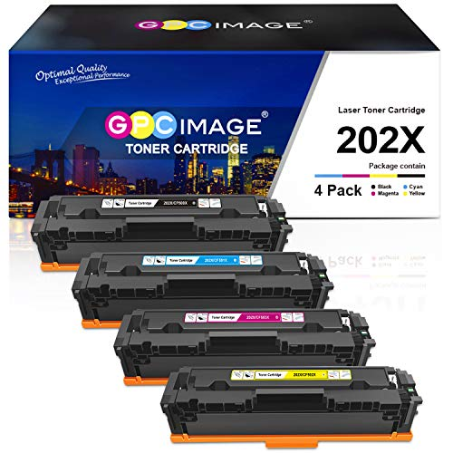 top rated Replacement toner cartridge compatible with GPC Imaging for HP 202X 202A CF500X CF500A. 2020