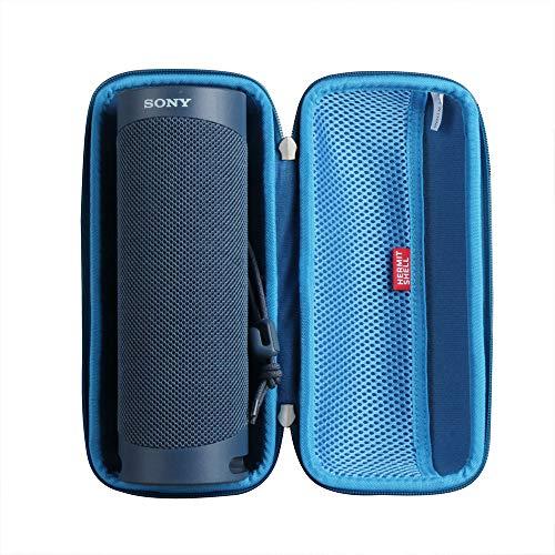 Hermitshell - Funda rígida para altavoz inalámbrico Sony SRS-XB23 (Bluetooth), color azul