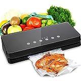 真空シーラー、スターター キット付き食品保存セーバー用自動真空シーラー、パルス真空自由、LED インジケータ ライト