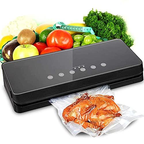 BD.Y Envasadoras al vacío, Selladora al vacío automática para Ahorro de conservación de Alimentos con Kit de Inicio, Vacío de Pulso Libre, Indicadores Luminosos LED