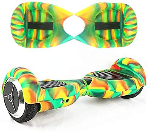 Windgoo Silicone Cove para 6.5' 2 Wheels Balance Scooter - Balance Hover Board Protector Funda Cubierta (Vistoso)