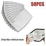 20/50 Unidades PM2.5 - Filtro de máscara Transpirable y...