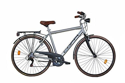 Coppi Fahrrad für Herren, 71,1 cm (28 Zoll), Aluminium, 6 Gänge.