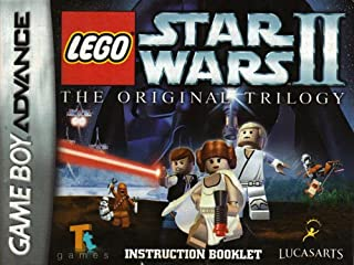 Lego Star Wars II The Original Trilogy GBA Instruction Booklet (Game Boy Advance Manual Only) (Nintendo Game Boy Advance Manual)