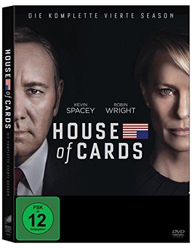 House of Cards - Die komplette vierte Season (4 Discs) [DVD]