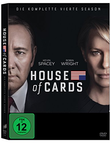 House of Cards - Die komplette vierte Season (4 Discs) [DVD]