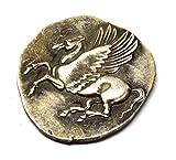 ARUNDEL SERVICES EU RÉPLICA Moneda Griega Antigua 415 Tetradrachm Monedas de Copia chapadas Grecia Replica Dinero