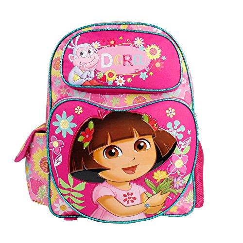 Dora the Explorer- Large 16' Full-size Backpack - Sunflower