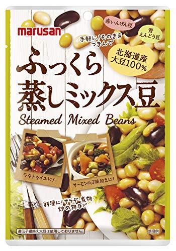 マルサン ふっくら蒸しミックス豆 80g ×10個