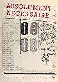 Absolument nécessaire (French Edition)