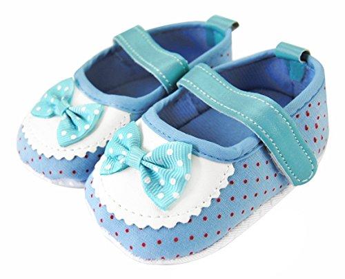 Axy Baby plastique Tapis D'éveil Chaussures Chaussures bébé 0 à 12 mois – Little Princess – Bleu BS4–2 - Bleu - bleu,