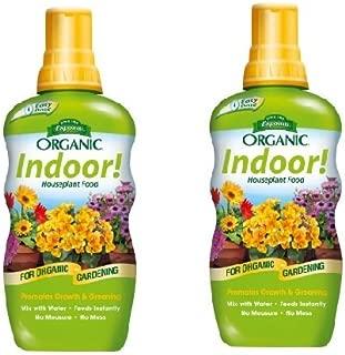 Espoma Company INPF8 Organic Indoor Plant Food, 8 oz (2)