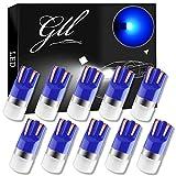 GLL T10 501 LED Ampoules Bleu W5W 194 168 2825 Wedge T10 Ampoules Sans Capuchon 3030-1SMD Pour la Voiture Intérieur Dôme Léger Tableau de Bord Latéral Lumière de Plaque de Tronc