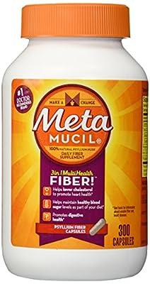 Metamucil Fibre Supplement - 300 Capsules