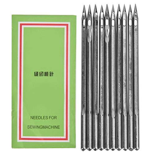 10 stks Zilver Rvs Naaimachine Naalden Schoen Reparatie Machine Naald Pack Schoen Reparatie Tool Accessoire(SL-26)