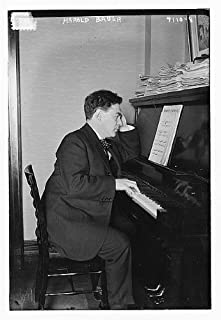 HistoricalFindings Photo: Harold Victor Bauer,1873-1951,noted pianist,playing piano